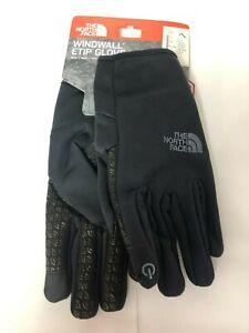 the north face windwall etip Black size L unisex glove