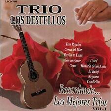 Trio Los Destellos Recordando Los Mejores Trios CD New