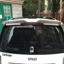 453 Car Trunk Lip Spoiler Wing Bumper Diffuser Fit MERCEDES Smart Fortwo 09+ Whi