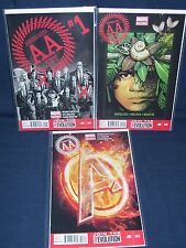 Avengers Arena Murder World #1, #2, #3 Nm with Bag and Board Marvel comics