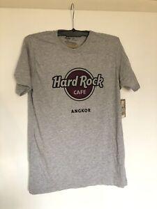 Hard Rock Cafe ANGKOR T-Shirt Grau, Größe M, Neu mit Etikett!