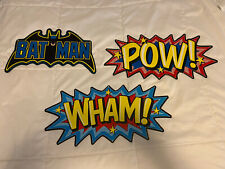 Tin Sign (3) Man Cave Superheroes Batman Superhero Metal Signs Plaques Bar Decor