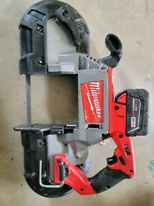 Milwaukee 2729-20 M18 Fuel Deep Cut Band Saw with xc5.0battery
