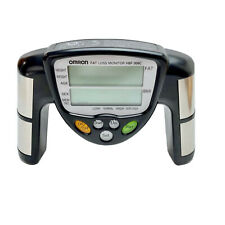 Omron HBF-306C Black Handheld Body Fat Loss Monitor BMI Tested & Working