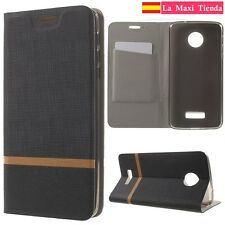"Cover with cover para ""Lenovo Motorola Moto Z / Z Droid"" Tpu Gel Leather Black"