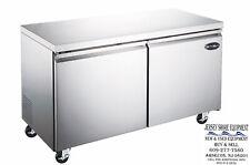Saba 48 2 Door Commercial Under Counter Refrigerator Ss Steel Food Storage