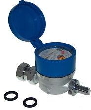 Zapfhahnzähler Kaltwasserzähler Gartenwasserzähler 30°C DN15  Abwasser sparen