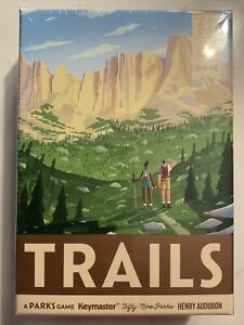 TRAILS a Parks Card Game Board Game  NEW sealed Keymaster Games IN STOCK