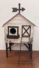 New ListingMetal Bird House