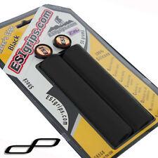 ESI Racer's Edge Silicone MTB Bike Bicycle Handlebar Bar Grips / 50g - Black
