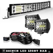"1X5D 22"" INCH  LED WORK LIGHTS BAR Fits OFFROAD ATV FOG TRUCK ATV BOAT TRACTOR"