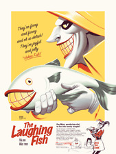 The Laughing Fish Batman BTAS PCC Poster Print Mondo Joker Phantom City Creative