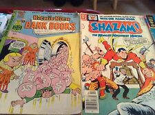 Lot of eight assorted comic books