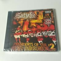 NEW Presidents Of The Wicked Underground CD Mixtape Claas MNE Horrorcore Mars
