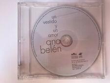 ANA BELEN CD UN VESTIDO Y UN AMOR SINGLE BMG 1997