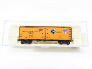 N InterMountain 65501-08 SP UP PFE Pacific Fruit Express Steel Ice Reefer #47574
