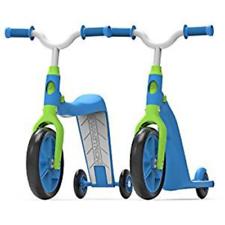 Swagtron K6 4in1 Scooter Convertible Ride-del niño en bicicleta de entrenamiento equilibrio Trike