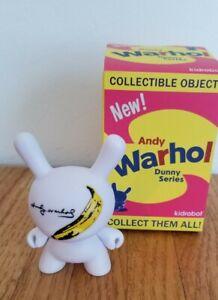 """Dunny 3"""" 2016 Andy Warhol Series Banana small 3/40 Kidrobot"""