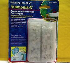 Penn Plax Ammonia- X, AX5, Ammonia Removing Cartridges, 2 Pk