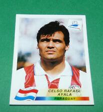 N°266 CELSO RAFAEL AYALA PARAGUAY PANINI FOOTBALL FRANCE 98 1998 COUPE MONDE WM
