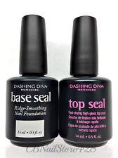 Dashing Diva Nail Polish - Base Seal and Top Seal DUO .5oz/14ml