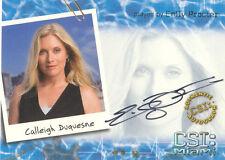 "CSI Miami Series 1 - A2 Emily Procter ""Calleigh Duquesne"" Autograph Card"
