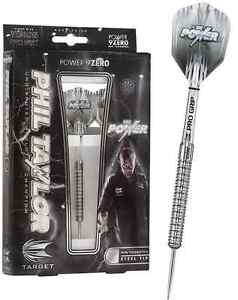 Target Phil Taylor 9Zero 24g Steel Tip 90% Tungsten Darts - tips flights