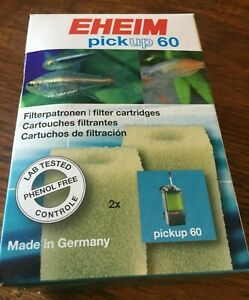 EHEIM PICKUP 60 FILTER CARTRIDGE Aquarium Fish