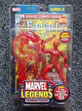 Marvel Legends Series 2 (II) - Human Torch Figure New Sealed
