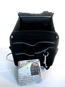 McGuire Nicholas High Voltage Black Electricians Tool Pouch 72504