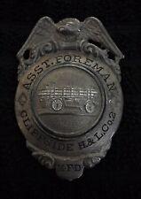 Montclair Nj New Jersey Fireman Fire Badge Cairns Olson Reese Wilson Braxmar