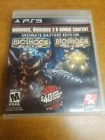 BioShock -- Ultimate Rapture Edition (Sony PlayStation 3, 2013)(Complete)(Tested