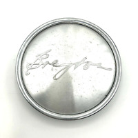 "Breyton Wheel Center Hub Cap 2-5/8"""" OD Machined & Chrome C-G96"