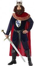 Déguisement Homme ROI Médiéval Luxe XL Moyen Age Arthur Chevalier Adulte NEUF