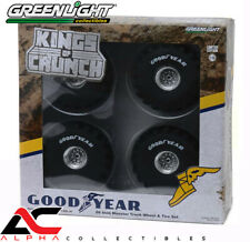 "GREENLIGHT 13547 1:18 66-INCH MONSTER TRUCK ""GOODYEAR"" WHEELS & TIRES"