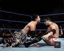 Tajiri signed 8x10 photo PSA/DNA COA WWE Autographed Wrestling