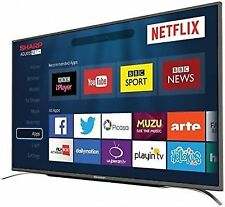 Sharp LC-43CFG6352K 43 Smart LED TV Wifi Freeview HD Unit Only with Power Lead