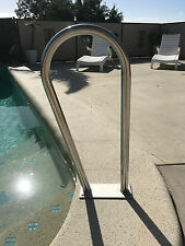 "SWIMMING POOL / SPA Hand Rail Grab Step Rail HRA08B  ""STUBBY ""Stainless Steel"