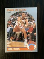 Mark Jackson 1990-91 NBA Hoops #205 Menendez Brothers Murder Card NM PSA 9 or 10