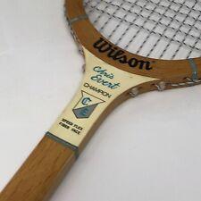 "Vintage Wilson Chris Evert Champion Wood Tennis Racquet Racket 27"" 4 3/8 Display"