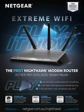 Netgear Nighthawk D7000 AC1900 Dual Band Wireless Gigabit ADSL2+ Modem Router