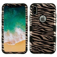 Apple iPhone X 10 HYBRID Shockproof Rugged Rubber Silicone Protector Case Cover