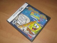 Drawn to Life SpongeBob SquarePants Nintendo DS Game - Works Perfectly