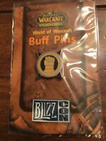 World Of Warcraft 2007 Blizzcon Buff Pin — Paladin SEAL OF JUSTICE Blizzard NIB