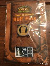 World Of Warcraft 2007 Blizzcon Buff Pin — Paladin SEAL OF JUSTICE Blizzard NIB