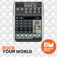 Behringer XENYX Q802USB Mixer Small Format Premium 8 Input w/USB/Audio Interface