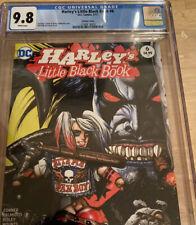 Harley's Little Black Book 6 Cgc 9.8 Simon Beasley variant 1:25 Crush - 1/23