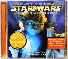 Star Wars Episode II 2 Attack OST Soundtrack Hype Stickers Rare Yoda Cover CD