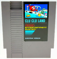 Clu Clu Land-Nintendo Entertainment System NES-Seulement Module très bien