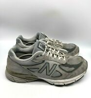 New Balance 990v4 Mens Made In The USA Shoes Gray Size 12